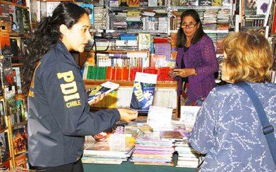 PDI incauta más de 400 libros falsificados en San Vicente de Tagua Tagua