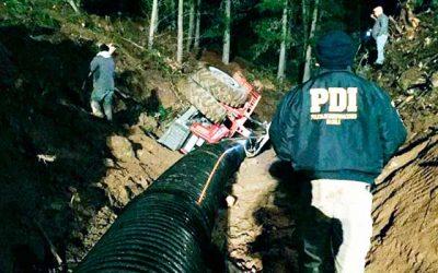 PDI investiga muerte de tractorista en Paredones