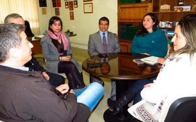 Presidente de la Corte de Rancagua participa en reunión de coordinación del programa Justicia vecinal