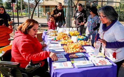 Programa de promoción de salud realiza participativo Mesón saludable