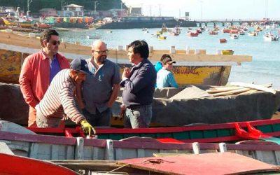 Proyectos resultantes del nodo de mejoramiento pesquero artesanal en Talcahuano