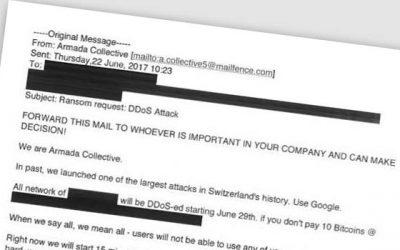 Qué hacer si recibes un correo que te amenaza con un ataque informático