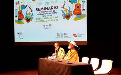 Representantes de OHiggins tienen destacada participación en Seminario Internacional de Patrimonio Cultural
