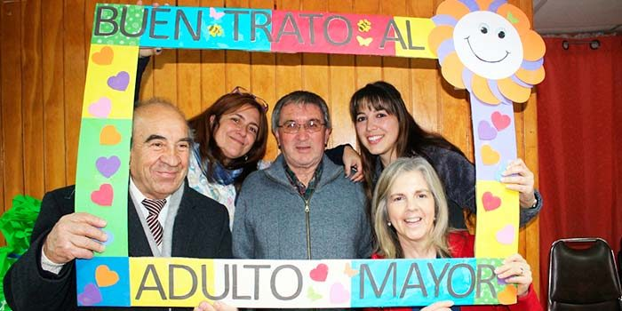 Salud Machalí finaliza junio conmemorando el mes del buen trato al adulto mayor