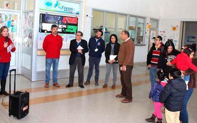 Salud Machalí recibe a autoridades del Servicio de Salud OHiggins en el marco de la campaña de invierno
