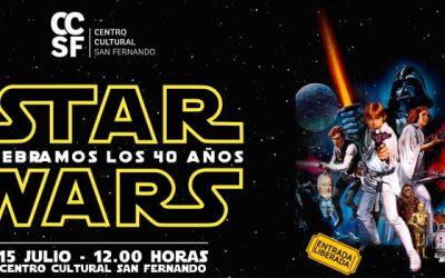 San Fernando se suma al 40 aniversario de Star Wars con tarde repleta de actividades