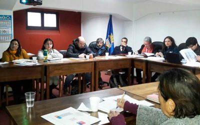 Segunda sesión ordinaria del consejo comunal de seguridad pública en Rengo
