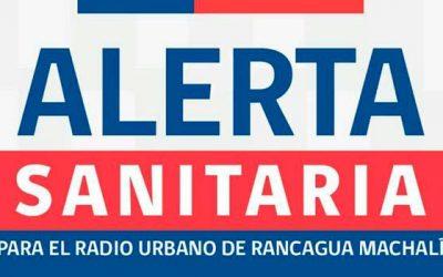 Seremi de Salud declara Alerta Sanitaria por MP 2,5 en Rancagua y Machalí