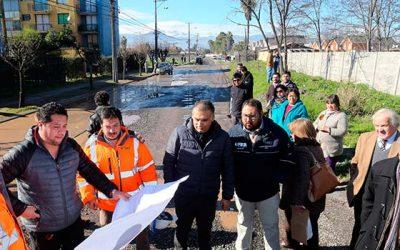 Todo listo para que se inicien las obras de pavimentación de avenida Los Palacios de San Fernando