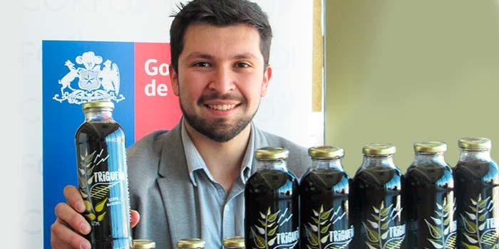 Trigueña la primera bebida chilena de trigo libre de gluten