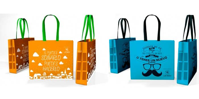 Unibag y fundación Las Rosas lanzan proyecto de bolsas eco solidarias