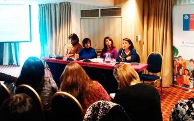 Unidad en violencias contra las mujeres del Sernameg se reúnen en encuentro nacional