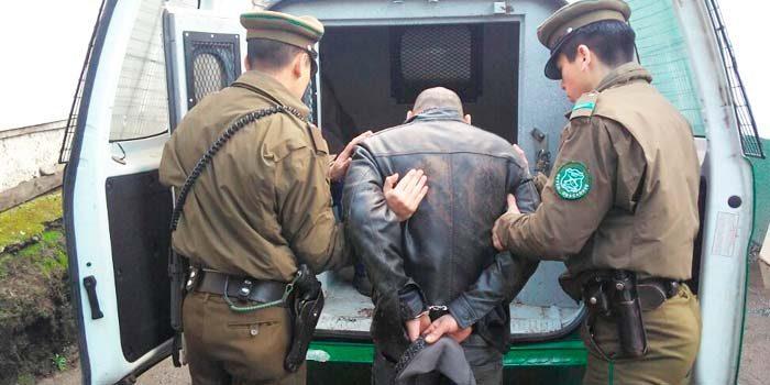 carabineros Detenido por robo en peaje de Pelequén