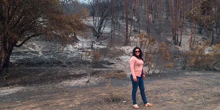 43 pymes afectadas por incendios forestales vuelven a trabajar
