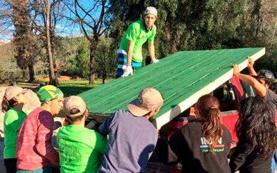 50 jóvenes finalizan los trabajos voluntarios en la Reserva Nacional Río de Los Cipreses