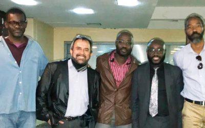 Académico del IEA de la Universidad de OHiggins participa en festival de cine en África