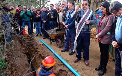 Agua potable llega a nuevos rincones de Pichilemu