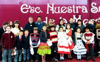 Alcaldesa y Mineduc firman convenio para mejoramiento Escuela Nuestra Señora de La Merced