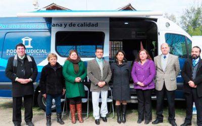 Bus Judicial recorre durante la semana comunas de la jurisdicción Rancagua
