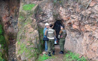 Carabineros del Labocar investiga robo de explosivos al interior de una mina