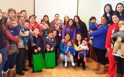 Cesfam Rosario construyendo alianzas para proteger la lactancia materna