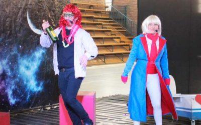 Con Caperucita y El Principito estudiantes de Doñihue disfrutan del teatro