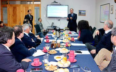 Core sesiona en PDI Rancagua para conocer falencias en infraestructura y parque automotriz