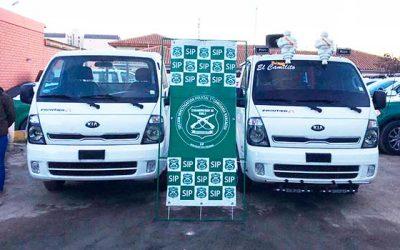 Detenidos por receptación y recuperación de 2 camionetas