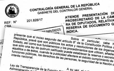 Diputados critican a Codelco por infringir reserva de informe de Contraloría que detectó irregularidades