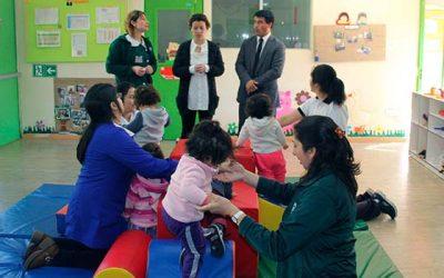 Educadoras de la Junji valoran set de motricidad entregados a jardines infantiles