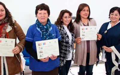 En Cesfam de Santa Cruz realizan certificación de participantes de taller de cuidadores