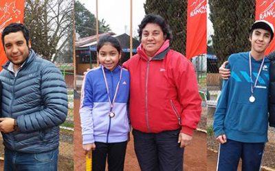 Escuela Municipal de Tenis de Rancagua efectuó el Torneo de Invierno 2017