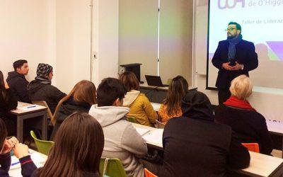 Estudiantes de enseñanza media son entrenados en UOH para debate convocado por el Senda y el Mineduc