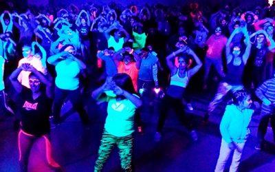 Fiesta Fluor Fitness entrega bienestar y alegría a los rancagüinos