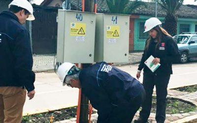 Fiscalizan instalaciones eléctricas para celebración de Santa Rosa de Pelequén