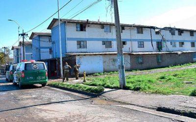 Incendio en departamentos abandonados de Rancagua