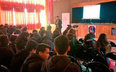 Injuv O'Higgins inicia escuelas de ciudadanía en Quinta de Tilcoco