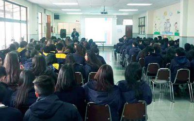 Injuv realiza charla de oferta programática a alumnos de Quinta de Tilcoco