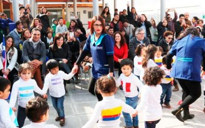 Integra inaugura jardín infantil en Rancagua