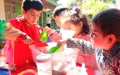 Jardín infantil de la Junji inicia programa de competencias en ciencias