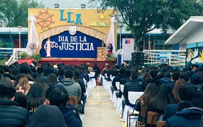 Juzgado de Letras y Familia de San Vicente participa en Día de la Justicia en Liceo de Pichidegua
