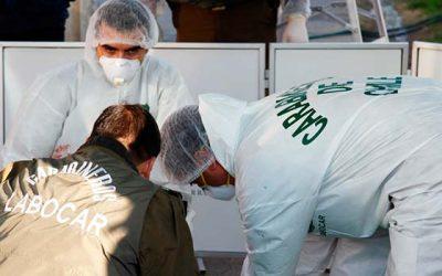Labocar investiga robo que afectó a dos departamentos en San Fernando
