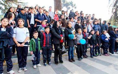 Lanzamiento regional de contrapeso, plan contra la obesidad estudiantil