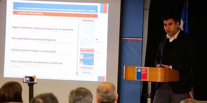Lanzan plan regional de infraestructura estratégica contra incendios forestales