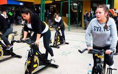 Liceo José Victorino Lastarria participa en la feria de actividad física y deporte
