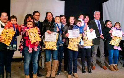Menor palmillano premiado en acto regional de la semana de la lactancia materna