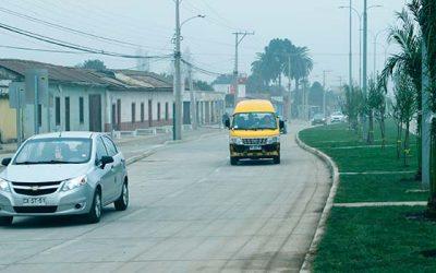 Minvu moderniza ingreso vial a Rengo