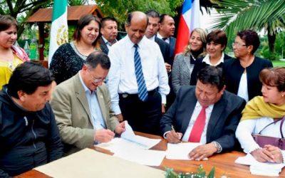 Mostazal renueva intercambio cultural entre Chile y México