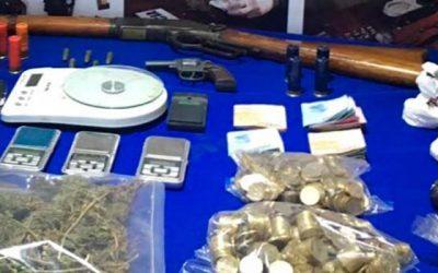 Operación Pantano deja seis detenidos con drogas y armas en Rancagua