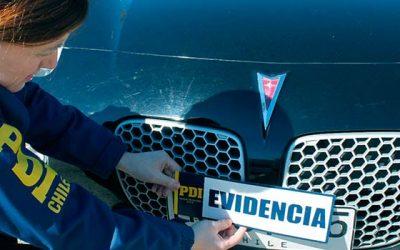 PDI Incautan vehículo de contrabando avaluado en 14 millones de pesos